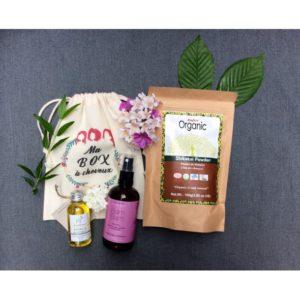 Ma box à cheveux, produits capillaire, soin, beauté, naturels, biologiques, organic, shampoing en poudre